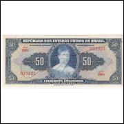 C-024 - CINQUENTA CRUZEIROS - AUTOGRAFADA - 1943 - sob/FE(+) s.286