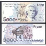 C-220 - CINCO MIL CRUZEIROS - 1992 - FE