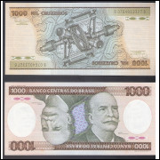 C-165 - UM MIL CRUZEIROS - 1986 - FE