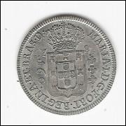 160 reis - 1787 - coroa baixa - mbc/sob (344)