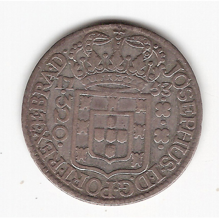 320 reis - 1753 R - mbc/sob (241)