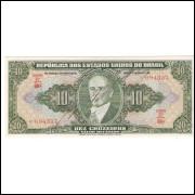 C-075 - DEZ CRUZEIROS - 1950 - AUTOGRAFADA - sob/fe
