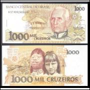 C-217 - UM MIL CRUZEIROS - 1990 - FE
