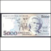C-219 - CINCO MIL CRUZEIROS - 1990 - FE
