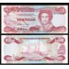 BAHAMAS - 3 Dollars - 1984 -RAINHA - P.44 - FE