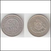 50 Reis - 1886 - Cupro-Niquel - FC