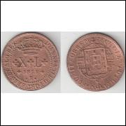 XL Reis - 1821R - mbc/sob - Numeros menores