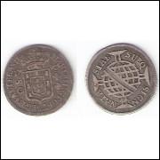 80 reis - 1790 - c.a.. - mbc/sob