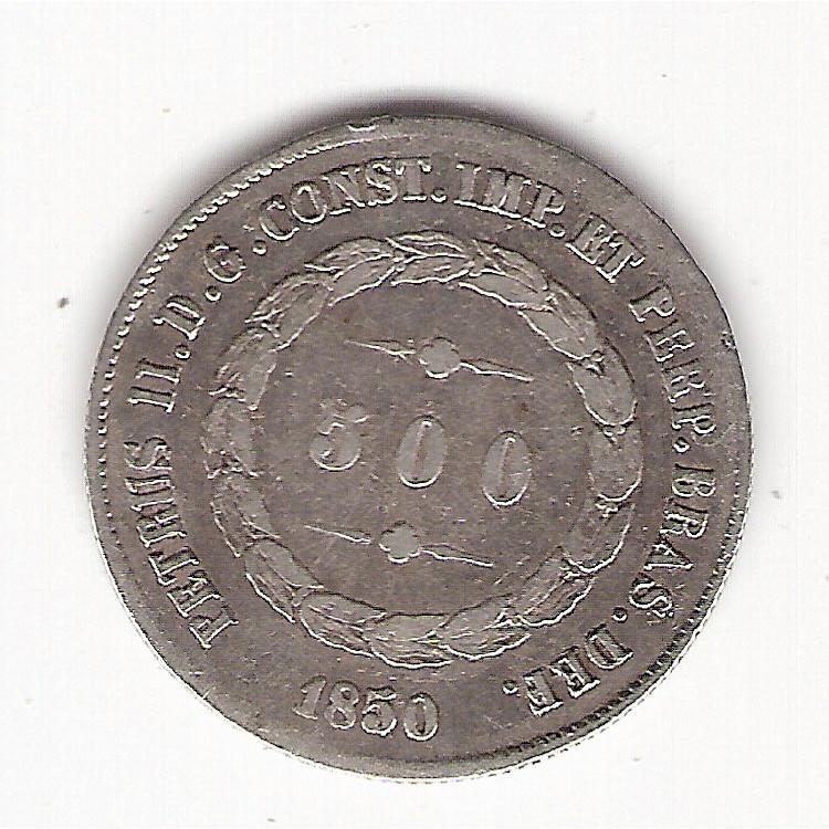 500 reis - 1850 - mbc (563)
