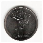 1 CRUZEIRO - 1972 - Sesquicentenario da Independencia - Espelhada (324a)