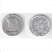 10 Centavos - 1956