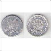 10 Centavos - 1961