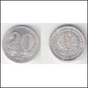 20 Centavos - 1957