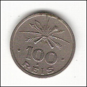 100 Reis - 1932 - Série Vicentina mbc/sob (135)