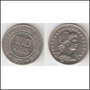 100 Reis - 1931 - Cupro Niquel - FC