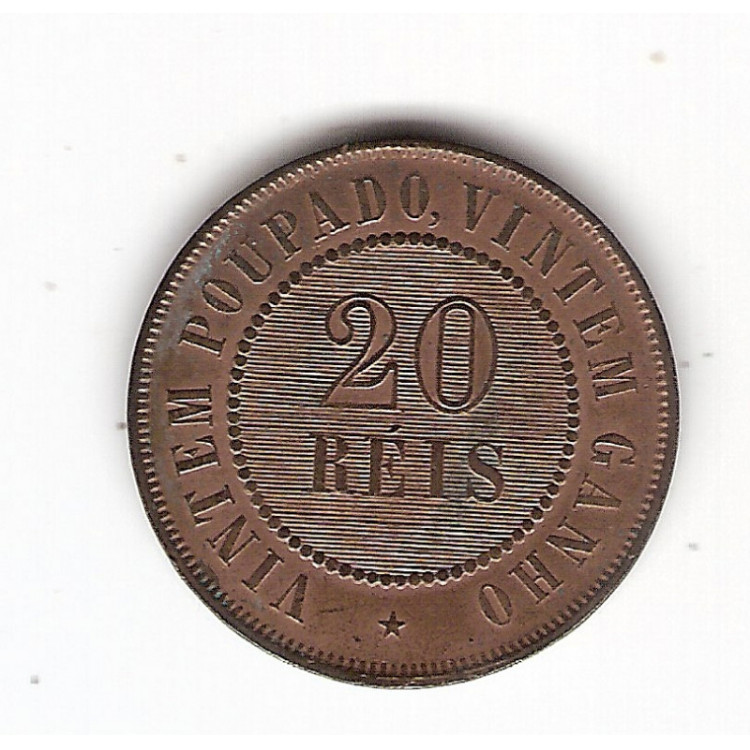 20 Reis - 1910 - FC (813)