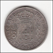 960 reis - 1815 R - var. 34B sob (425)
