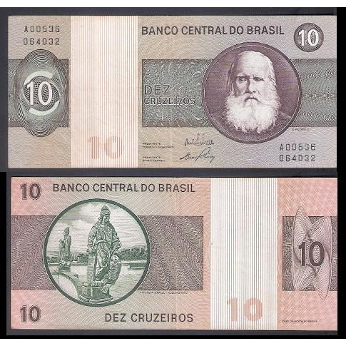 C-137 - DEZ CRUZEIROS - 1970 - sob