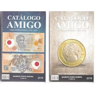 CATALOGO AMIGO - CÉDULAS E MOEDAS - 2 em 1 - 2019
