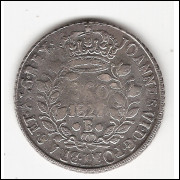 960 Reis - 1821 B - var.2B s/Potosi  (463)