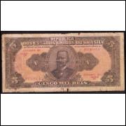 R-099 - 5000 Reis - 1923 - bc/mbc (s.7)