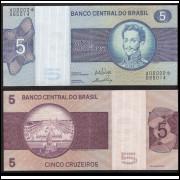 C-133a(*) - CINCO CRUZEIROS - 1970 - c/* s.A00002 - sob