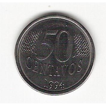 50 Centavos/Real - 1994 - FC(452)