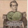 FOLDER com moeda de 2.000 reis DUQUE DE CAXIAS 1935