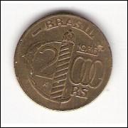 1936 - 2000 Reis - Duque de Caxias mbc/sob (160)