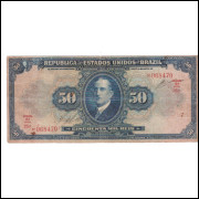 R-129 - 50000 Reis - 1924 -  serie 25 mbc