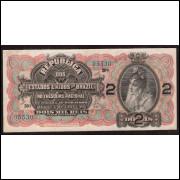 R-084 - 2000 Reis 1918 - sob