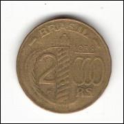 1938 - 2000 Reis - Duque de Caxias - poligonal  mbc (V162a))