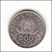 500 Reis - 1913 - Estrelas Soltas - sob/fc (706)=2=