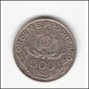 500 Reis - 1913 - Estrelas Soltas - mbc/sob (706)=2=