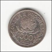 1000 Reis - 1913 - Estrelas Soltas - mbc (707)=2=