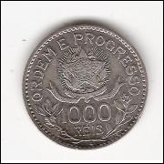 1000 Reis - 1913 - Estrelas Soltas - sob/fc  (707)=2=