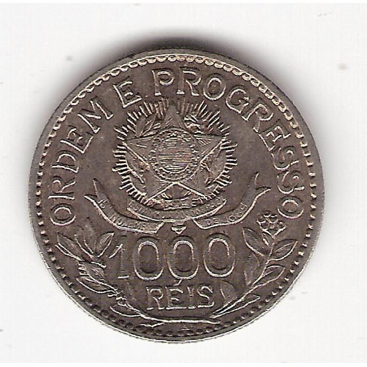1000 Reis - 1913 A - Estrelas Soltas - sob  (707)=2=
