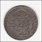 960 reis - 1814 Rio - var.10A - mbc/sob -s/Lima - (424)