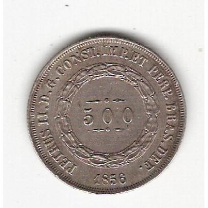 500 Reis - 1856 - mbc (589)