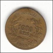 1929 - 1000 Reis - Simbolo da Fartura - sob - ESCASSA (132) -