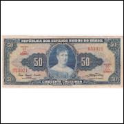 C-028 -CINQUENTA CRUZEIROS -1961- mbc (s.1090)