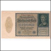 ALEMANHA - 10.000 Mark - 1922 - Pick 72 - sob =2