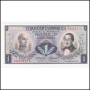 COLOMBIA 1 Peso Oro 1973 - P.404E  FE =2