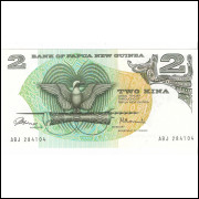 PAPUA NOVA GUINEE - 2 Kina 1975 P.1 - FE =2