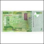 UGANDA 5000 Schillings 2010 P.51- FE =2