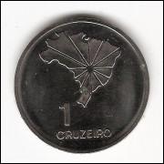 1 CRUZEIRO - 1972 - Espelhada - Comemorativa (324a) #2