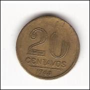 20 Centavos - 1944 - com sigla sem estrela  (186d)) #4