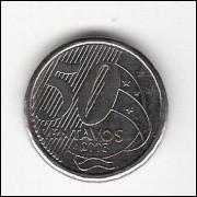 50 Centavos/Real -2003- falha no reverso (531a) #17