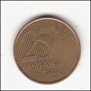25 Centavos/Real -2011- falha cunhagem  (519a) #19