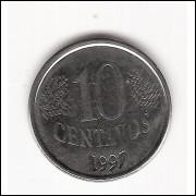 10 Centavos/Real -1997- dupla batida (449a) #20